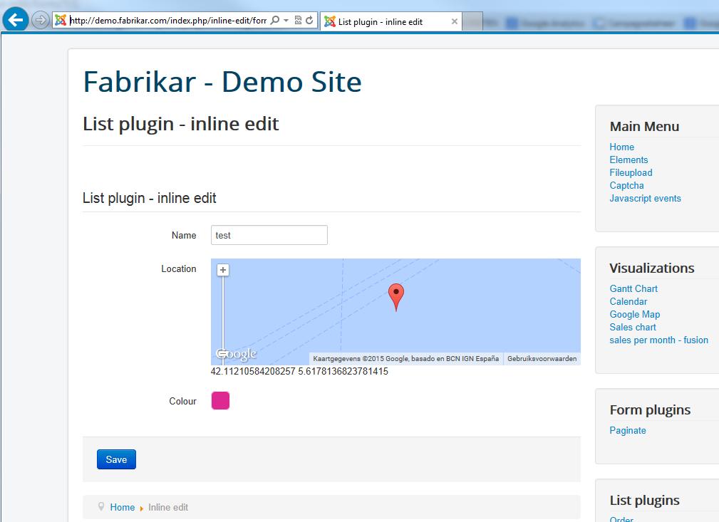 SQL injection vulnerability? | Fabrik