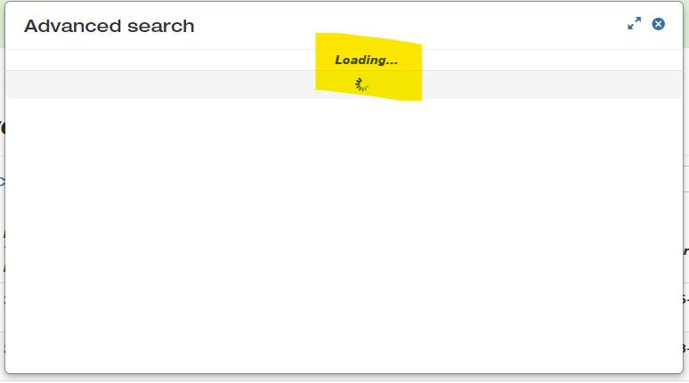 BackendAdvanceSearchHangsatloading.png